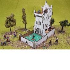 """Башня для бросания кубиков (Dice Tower) """"Белый замок"""""""