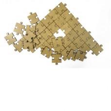 Комплект квадратных паззлов