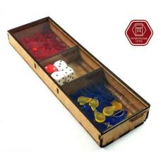 """Набор фигурных фишек для Подарочной """"Эволюции"""" в трехсекционном контейнере"""